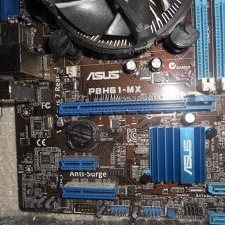 第二世代COREi3CPU、マザーボード、メモリ4GBセット(W...