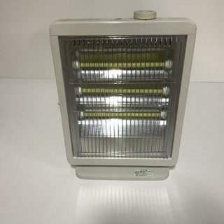 グリーンウッド 電気ストーブ GEH-K100N ホワイト の画像