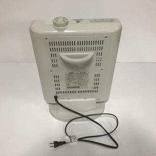 グリーンウッド 電気ストーブ GEH-K100N ホワイト  - 宇治市
