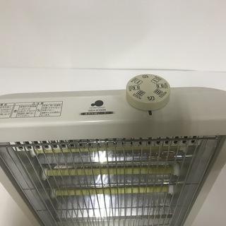 グリーンウッド 電気ストーブ GEH-K100N ホワイト  − 京都府