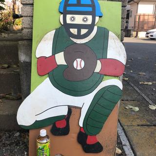 野球キャッチャーボード