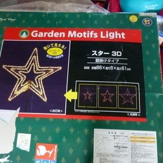 クリスマス用 GARDEN MOTIFS LIGHT