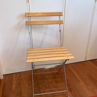 【あげます】折りたたみチェア・椅子