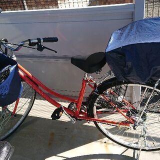 先月買ったばかりの自転車★26インチ