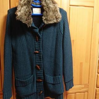 ファー付きセータージャケット