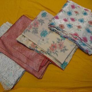 正絹の着物 小紋(普段着)4枚セット
