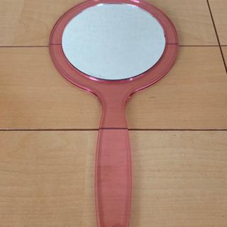 手鏡 ピンク