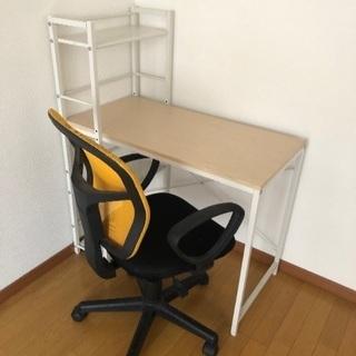 学習机 座椅子 セット3000円で売ります!