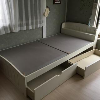 ※現在取引中デザイン可愛いベッドです。