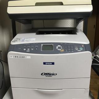 EPSON レーザー複合機 LP-A500F プリンタ/コピー/FAX
