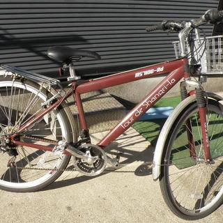 ロードバイク27インチ 新古品 フロント3段、リア6段、1…