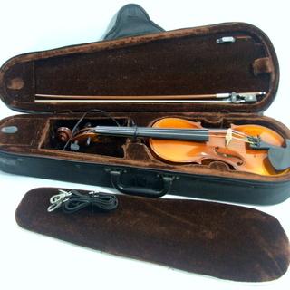 メンテ済み REGHIN HORA 分数1/2 東ヨーロッパ ルーマニア産 2013年モデル ケース 未使用弓 ナイロン弦搭載 愛知県清須市 手渡し 全国発送対応 中古バイオリン - 売ります・あげます