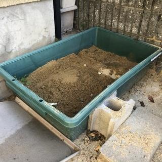 砂場用 大型プラスチックバット 66cm x 110cm