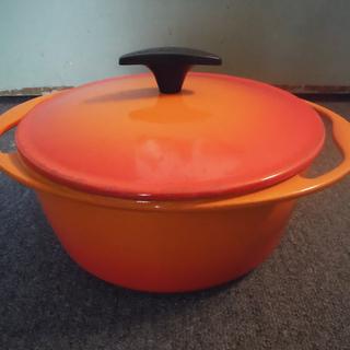 ● ルクルーゼIH対応ココット・ロンド 22 鍋+調理機器おまけ