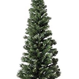 LEDファイバークリスマスツリー 高さ210cm グリーン
