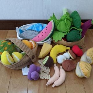 イケア布食材玩具