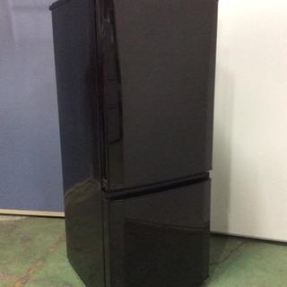 使いやすいサイズの2ドア冷蔵庫★三菱★146L★15年♪ひとり暮...