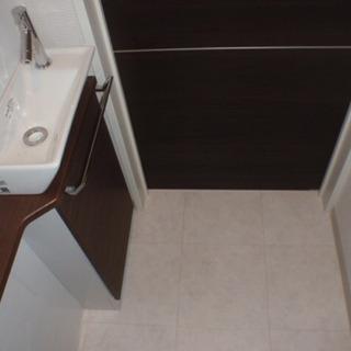 トイレ手洗いカウンターセット(新品・未開封)