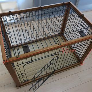 犬用サークル ケージ 木製