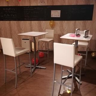 店舗用カウンターテーブル 8セット  イケア製テーブル 白色