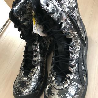 ☆asics 安全靴 ウィンジョブ 新品未使用☆
