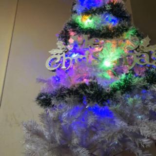 クリスマスツリー (ホワイト180cm)