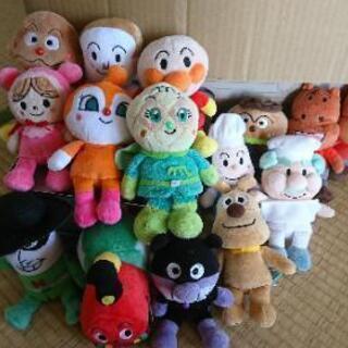 アンパンマン人形15体