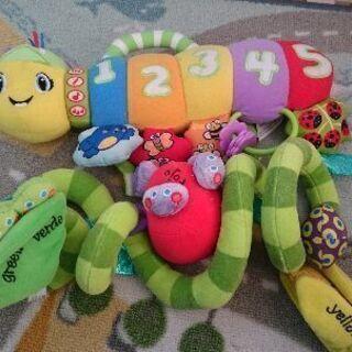 ベビーカーやベビーベットにつける玩具