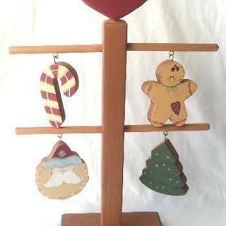 揺れてかわいい置物 ハンドメイド クリスマス