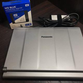 【超美品】新品同Panasonic Letsnote CF-SX3 第4世代 Corei5 4300U 8GB 500GB Windows10Pro 64bit WiFi カメラ HD+液晶1600x900 DVDマルチ - パソコン