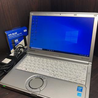 【超美品】新品同Panasonic Letsnote CF-SX3 第4世代 Corei5 4300U 8GB 500GB Windows10Pro 64bit WiFi カメラ HD+液晶1600x900 DVDマルチ - 売ります・あげます