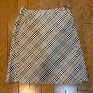 BURBERRY バーバリー スカート 38