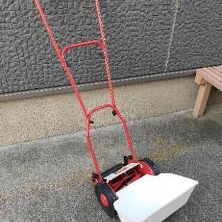 手動 芝刈り機  (一応ジャンク扱いで)