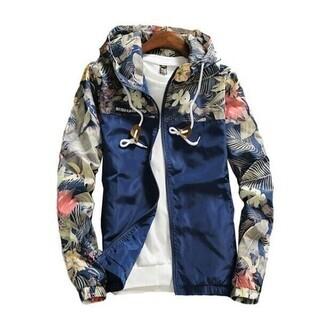 ウインドブレーカージャケット(紺)