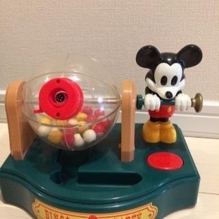 レトロ★ミッキービンゴゲーム おもちゃ 箱付き動きがにぶい