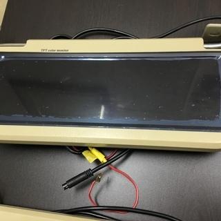 【新品・未使用品】車両ドアバイザーモニター 2台セット (送料無料)