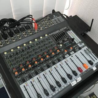 音響ミキサー europower pmp1000