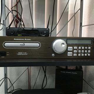 AMERICAN AUDIO MCD-110 ブラック 業務用C...