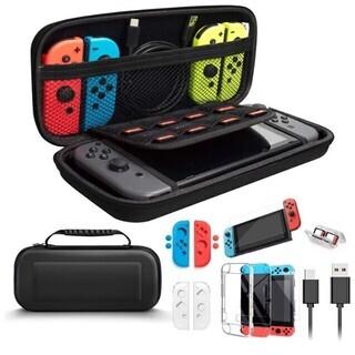 Nintendo Switch 対応 ケース 11in1 アクセ...