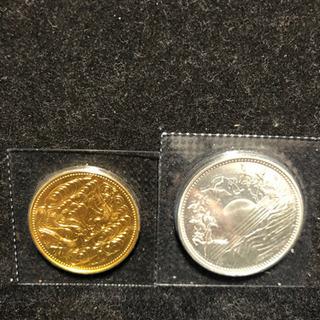 御在位六十年記念硬貨