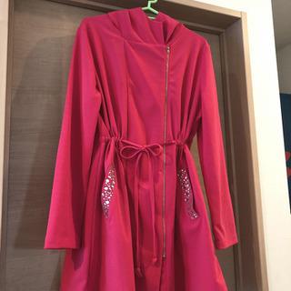 【新品未使用】羽織 アウター ピンク