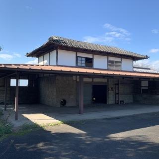 倉庫、納屋 鉄骨製外屋根骨組み 重量鉄骨製 高根沢町