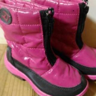 スノーブーツ 15~16センチ 未使用品 ピンク