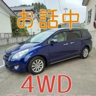 4WD♬ H18マツダ MPV  23Cスポーティパッケージ