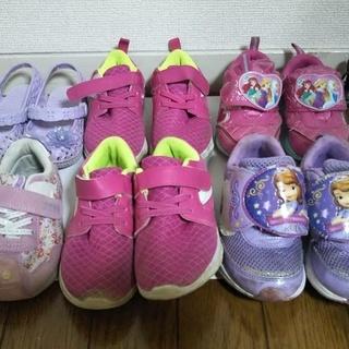 女の子用靴 15cm~17cm 6足セット