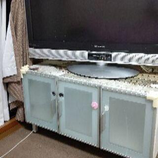 テレビ台&三菱TVセット