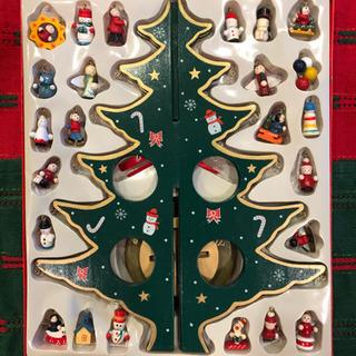 【値下げしました】卓上 木製クリスマスツリー