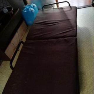 ※お譲りします※ ニトリ 折りたたみ式ベッド シングル