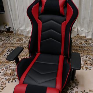 サンワダイレクト ゲーミング座椅子 360度回転 180度リクラ...
