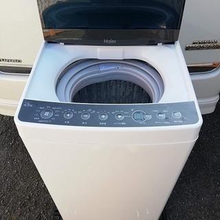 ◼️商談中■2019年製■ハイアール 全自動洗濯機 4.5kg ...